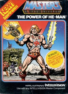 Masters of the Universe The Power of He-Man - Atari 2600 Game Vintage Video Games, Classic Video Games, Retro Video Games, Universe Videos, Beast, Software House, Pc Engine, Monkey Island, Video Game Collection