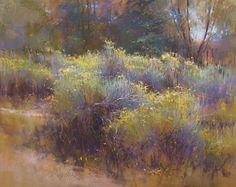 Chamisa Aglow by Richard McKinley Pastel ~ 16 x 20