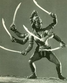 In one of Ray Harryhausen's most dazzling accomplishments, Sinbad and his men do battle with the six-armed goddess Kali