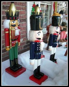 Mama would love this--her nutcracker collection doesn't include any quite this big!