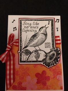 Handmade card by me!