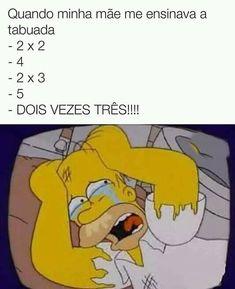 Mãe ensinando a tabuada... . . #memes #meme #mêmes #eu #même #memez #memesbr #memesbrasil #memesinstagram #memesinsta #memesgram #memeinstagram #memeinsta #memesfacebook #memestumblr #humor #engraçados #engracado #engraçadodemais #comedia #eunavida #soueu #soueunavida #souassim #minhamae #besouro Memes Humor, Memes Status, Funny Memes, Cartoon Memes, America Memes, Little Memes, Otaku Meme, Just For Laughs, Best Memes