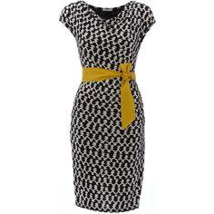 Marella Susanna printed cowl neck wrap dress