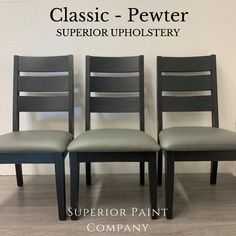 Order upholstery online by the yard at Superior Paint Co. Paint Companies, Ultra Violet, Vegan Leather, Upholstery, Dining Chairs, Yard, Classic, Painting, Furniture