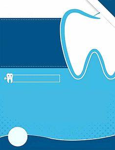 Dental advertising background material