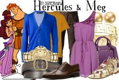 Hercules & Meg ~ Disneybound