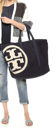 great Tory Burch beach weekender http://rstyle.me/n/j7ppdr9te