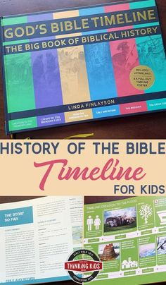 Want a history of the Bible timeline for your kids? You'll love this Bible history timeline chart -- the perfect book for every home library. Bible Timeline, History Timeline, Best Children Books, Books For Boys, Book Log, Prayer For Family, Spiritual Disciplines, Kids Calendar, Science Books