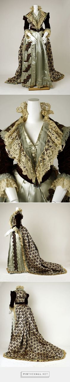 House of Worth 1880s Dress French | The Metropolitan Museum of Art