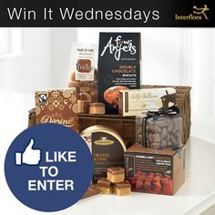 Interflora Win it Wednesday Chocolate Gift Prize Pack Giveaway