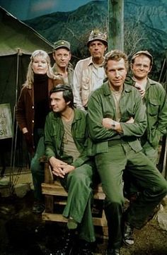 M*A*S*H (1972) I would like to point out that Allen Alda is not looking at the camera. Love him!