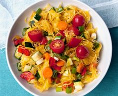 Carrie's Spaghetti Squash Salad is a finalist in our recipe contest -- and so tasty, we could eat it for breakfast!