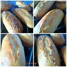 Cocina Fácil Sin Gluten: Pulguitas y pan hamburguesa (sin mixes harinas comerciales, ni huevo)