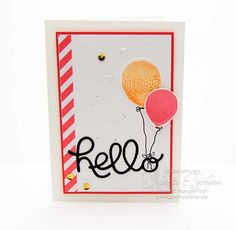 Partyballons Stampin´ Up!