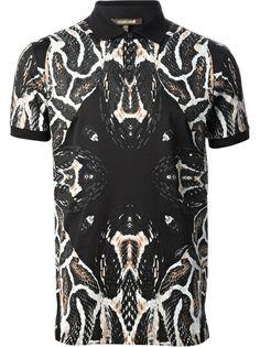 ROBERTO CAVALLI Snake Print T-Shirt #farfetch