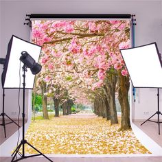 Amazon.com : SUSU 1.5x2.2m(5x7ft) Glitter Photography Backdrops Pink Flowers Background for Newborn 1st Month Birthday Photo Backgrounds Washable Material : Electronics