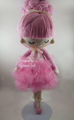 Pau and Angie Amigurumi Doll Crochet Pattern PDF von CarmenRent