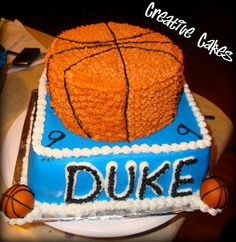 Creative cakes: Duke Cake
