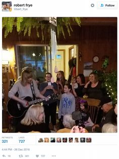 taylor swift surprises vet   Taylor Swift Surprises WWII Vet With Christmas Visit And Live ...