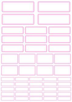 Labels Pink - Freebie In The Pocket Design
