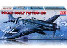 Plastikmodellbausatz des deutschen Jagdflugzeugs Focke-Wulf FW 190 D-9 im Maßstab 1:72.(http://www.cyram-entertainment.de/shop/products/Modellbau/Militaer/Luftfahrzeuge/2-Weltkrieg/Focke-Wulf-FW-190-D9.html) #fockewulf #fw190 #jagdflugzeug #militaer #modellbau #academy#jg3 #jg4 #jg301 #cyramentertainment