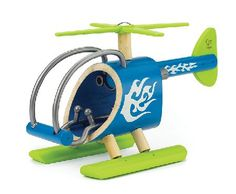 Hape e-Copter Bamboo - e-Copter Imaginations soar when this bamboo helicopter heads for the clouds. Talk about the unique way helicopters fly straight up and down backwards and sideways. Durable child safe paint fi http://www.MightGet.com/january-2017-12/hape-e-copter.asp