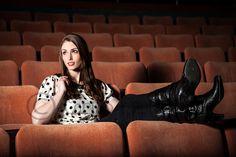 Senior Portrait for senior involved in drama, theatre www.coribphotography.com