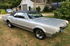 Bid for the chance to own a 1967 Oldsmobile 442 at auction with Bring a Trailer, the home of the best vintage and classic cars online. Old Classic Cars, Classic Cars Online, Hurst Shifter, Old Wagons, Oldsmobile Cutlass, Old School Cars, Car Photography, Manual Transmission, Autos