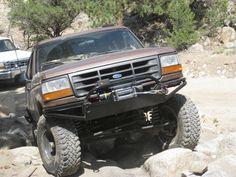 92 - 96 Bronco / F-Series front bumper Ford Trucks, Pickup Trucks, Ford Explorer, Ford Bronco, Broncos, Offroad, Jeep, Monster Trucks, Wheels