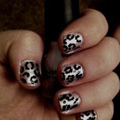 Cheetah nails :) super easy