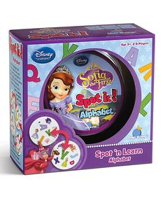 Another great find on #zulily! Sofia the First Spot It Board Game by Publisher Services, Inc. #zulilyfinds