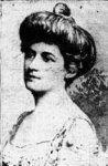 Lucile Polk épouse William Ernest Carter - cabines B96 & B98 - ont survécu avec leurs 2 enfants - Canot n°4