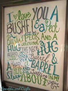 Perfect for C (and baby's) bedroom. We sing this every night at bed time!