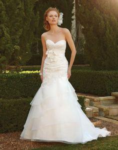 Casablanca Bridal style 2043 :: Garden Wedding Dress