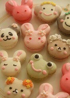 Animals, cute, bread; Anime Food