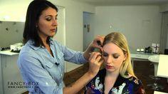 Fancybox - Tutotial de cómo aplicar pestañas postizas. Tips Belleza, Youtube, Applying Fake Eyelashes, Make Up