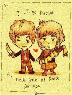 Touchstone and Sabriel #valentine