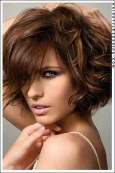 Medium Hairstyles - Sensual and Romantic Big Messy Curls!