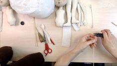 """Часть 2. Кукла своими руками. Создание куклы """"Эльза""""."""