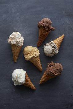 So much ice cream, so little time.