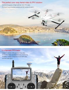 Walkera TALI H500 FPV RTF Hexacopter Drone with DEVO F12E - G-3D Gimbal - iLook+ 1080P HD Camera / FPV Video Transmitter!  Best Solution for Aerial Photography!  www.HobbyFlip.com