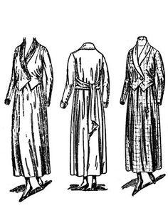 Past Patterns: #9751: Ladies' Dress: Circa 1917
