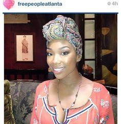 Brandy's Instagram Head Wrap