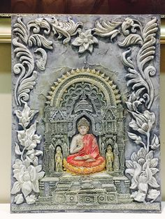 Learn, Innovate n Create your own new Art World! Gond Painting, Tanjore Painting, Mural Painting, Mural Art, Wall Mural, Murals, Clay Wall Art, Clay Art, Clay Clay