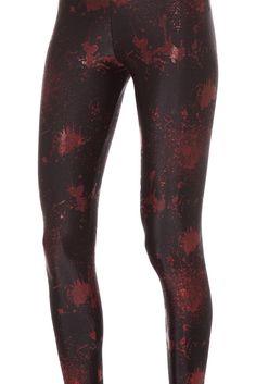 Death By Disco Leggings - LIMITED (WW $70AUD/ US $65USD) by Black Milk Clothing