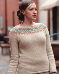 fair isle pullover | Knit women's pullovers (colorful) | Pinterest ...