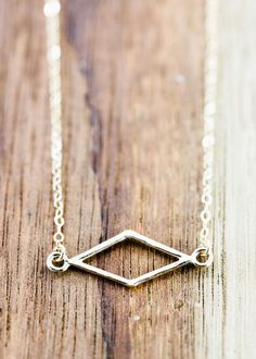 Hokuaonani necklace gold diamond necklace https://www.etsy.com/listing/217432818 by kealohajewelry