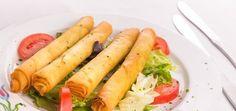 tyrkiske opskrifter, sigara börek, sigara börek opskrift, sagara börek med ost, sigara börek med persille