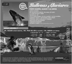 Patagonia, Agentina,  Mira esta promo que tenemos para vos! t: (0351) 4230903 t: lozada loves you f: lozada loves you d: Av colon 556, Córdoba capital