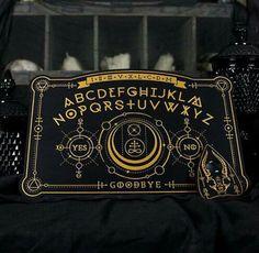 Ancient Alchemy Spirit Board Ouija Board Full by EnchantedRumors Wiccan, Magick, Witchcraft, Pagan, Diy Ouija Board, Elemental Powers, Dark Power, Book Of Shadows, Precious Metals